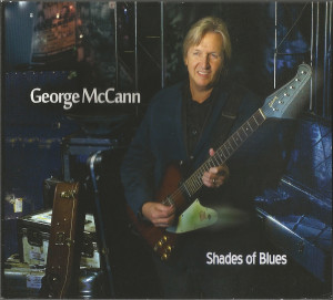 George McCann CD SHADES OF BLUES