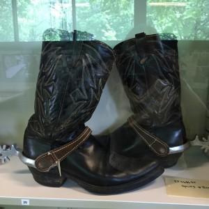 Elvis' boots