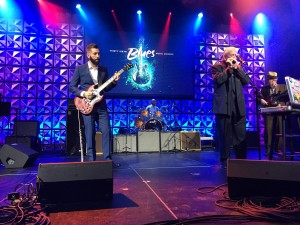 Matt Stubbs and Charlie Musselwhite performed at the Blues Awards