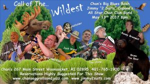 """Jimmy """"2 Suits"""" Chan's Big Blues Bash  - The all star Chan Clan Band @ Chan's  