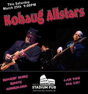 The Kohaug Allstars @ Ted's Stadium Pub | Cranston | Rhode Island | United States