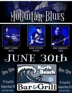 MoGuitar Blues live at North Beach Bar + Grill @ North Beach Bar & Grill   Hampton   New Hampshire   United States