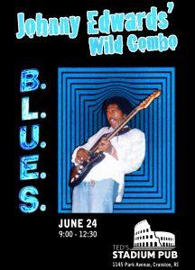 JOHNNY EDWARDS Wild Combo @ Teds Stadium Pub   Cranston   Rhode Island   United States